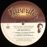 """Lee McDonald - """"We've Only Just Begun"""""""