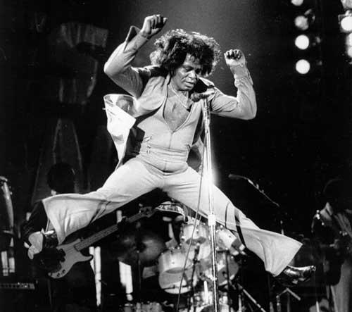 James Brown saut