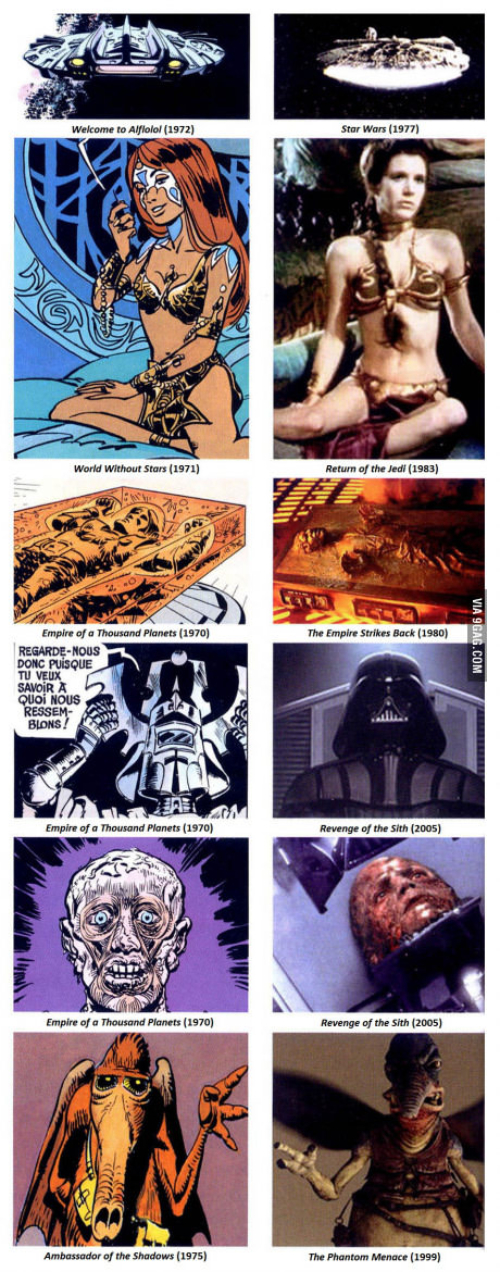 Valerian versus Star Wars